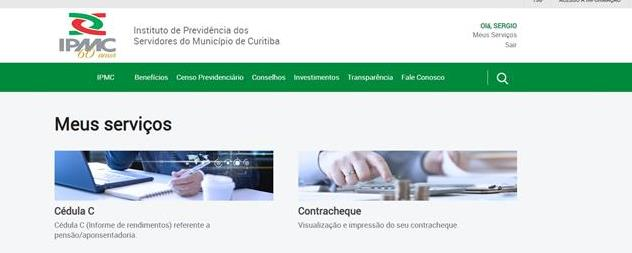 Contracheque ficará disponível aqui no site do IPMC