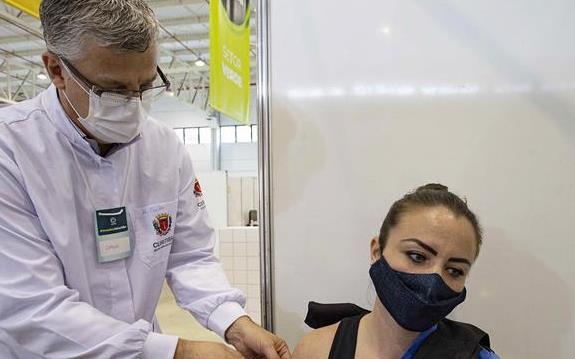 Curitiba ultrapassa as 700 mil pessoas vacinadas com primeira dose